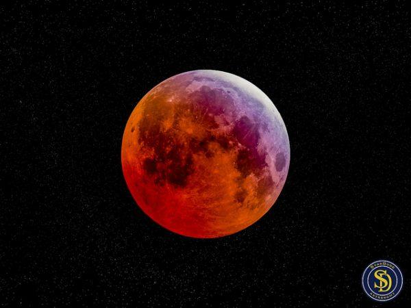 Lunar Eclipse 2018, Blood Moon